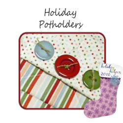 Holiday potholders